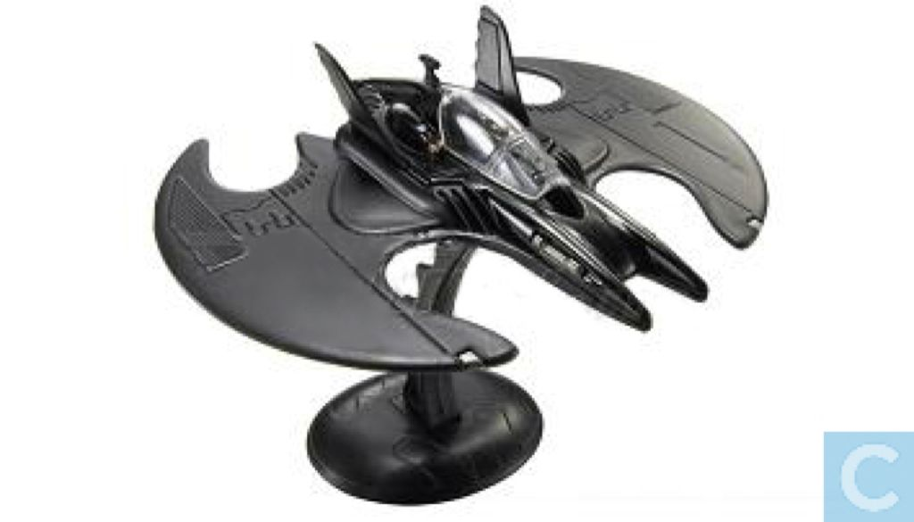 1989 Batman™ Movie Batwing™ Toy Car, Die Cast, And Hot Wheels - P4407 (2009) front image (front cover)