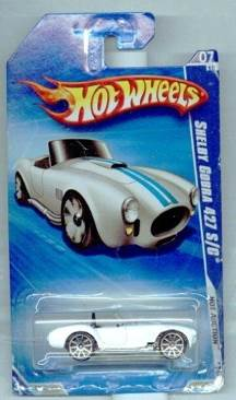 Shelby Cobra 427 S/C (406) Toy Car, Die Cast, And Hot Wheels - Sports Car Series (1984) front image (front cover)