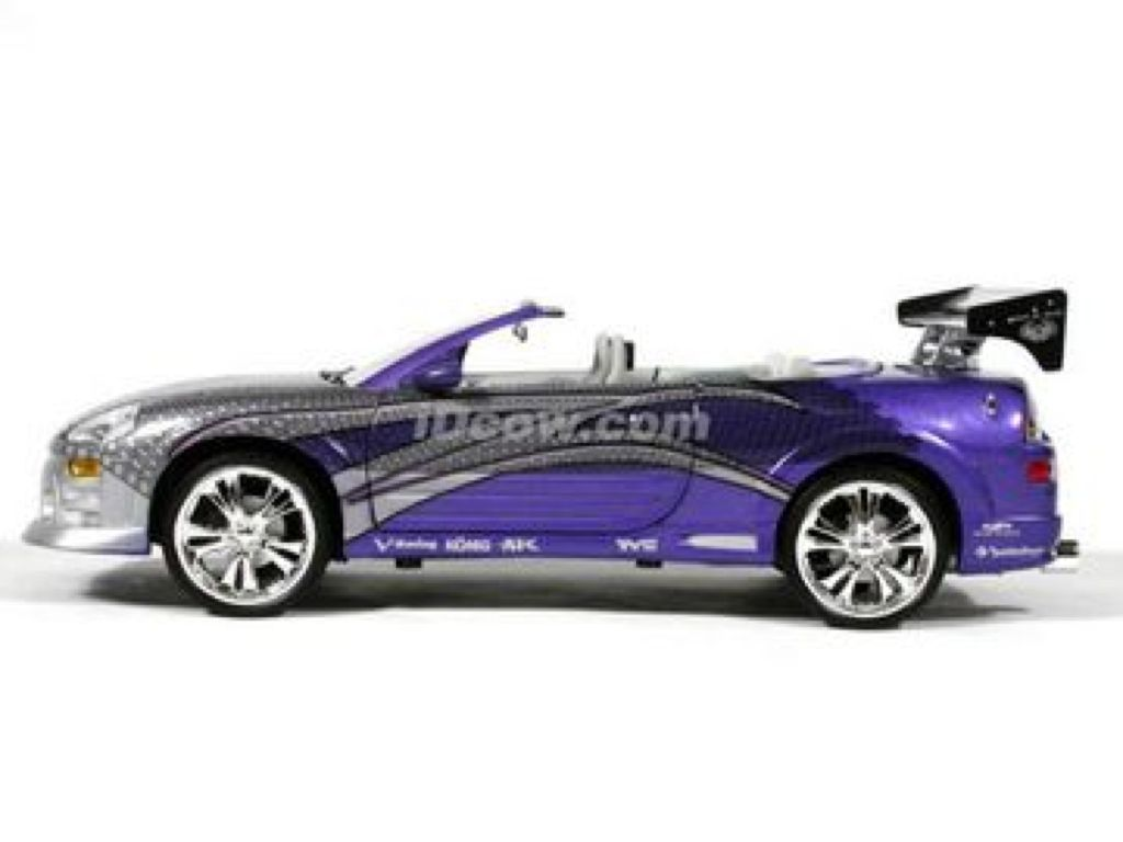eclipse mitsubishi spyder purple cars spider furious fast 2001 diecast cast die wheels ertl toy models owned believe actually these
