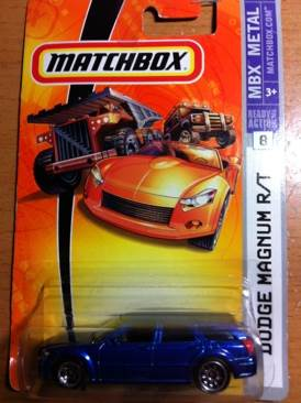 Matchbox Dodge Magnum R T Toy Car Cast And Hot Wheels