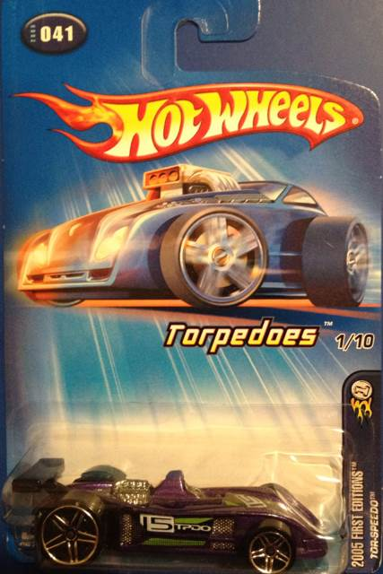 Tor Sdo Toy Car Cast And Hot Wheels 2005 Front