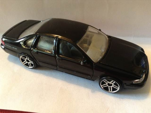 Chevy Impala SS, 1996 Toy Car, Die Cast, And Hot Wheels