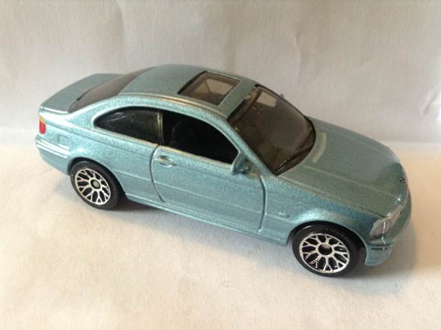 Bmw 3 Series E46 Coupe Toy Car Die Cast And Hot Wheels From Sort