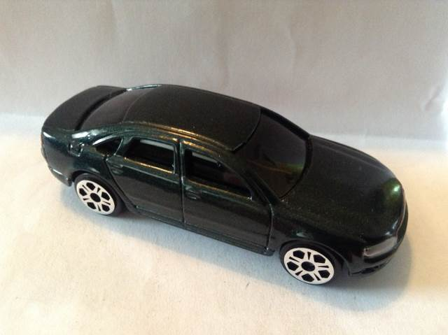 Audi A8 Toy Car, Die Cast, And Hot Wheels Front Image (front Cover