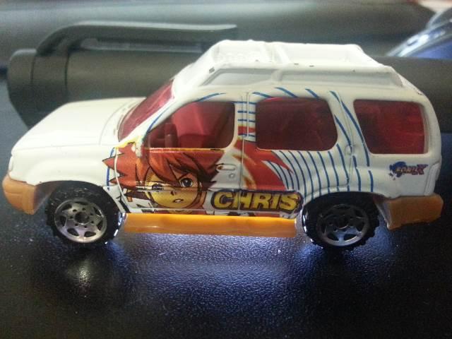 Matchbox Nissan Xterra Toy Car Die Cast And Hot Wheels 2000