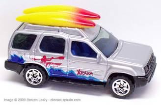 Matchbox Nissan Xterra Toy Car Die Cast And Hot Wheels 2001