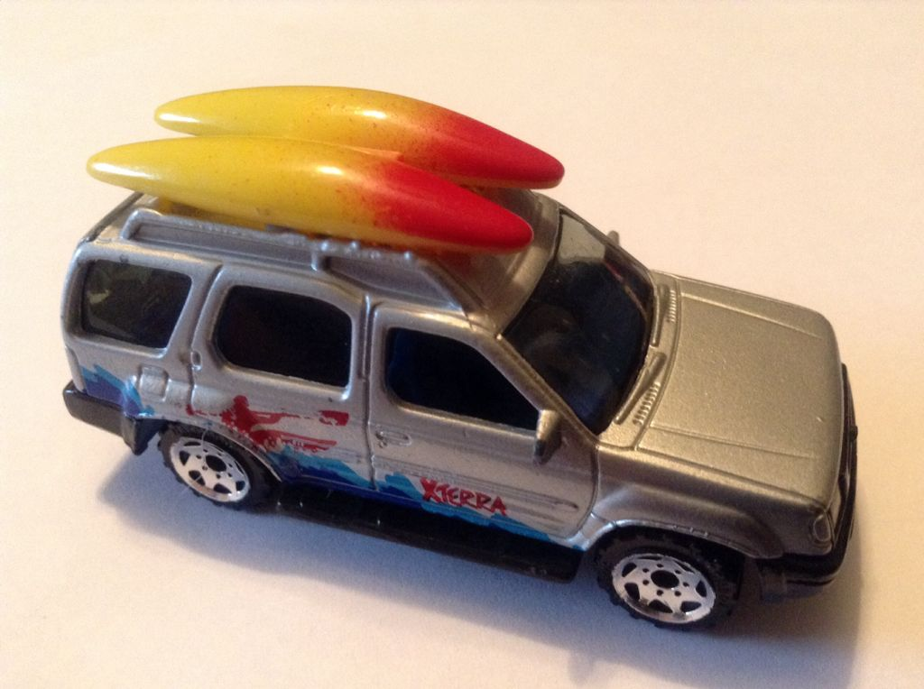 Nissan Xterra Toy Car Die Cast And Hot Wheels Matchbox From