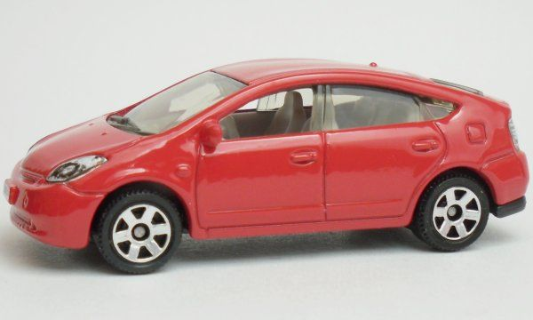 Prius Toy Car Cast And Hot Wheels 2006 Front