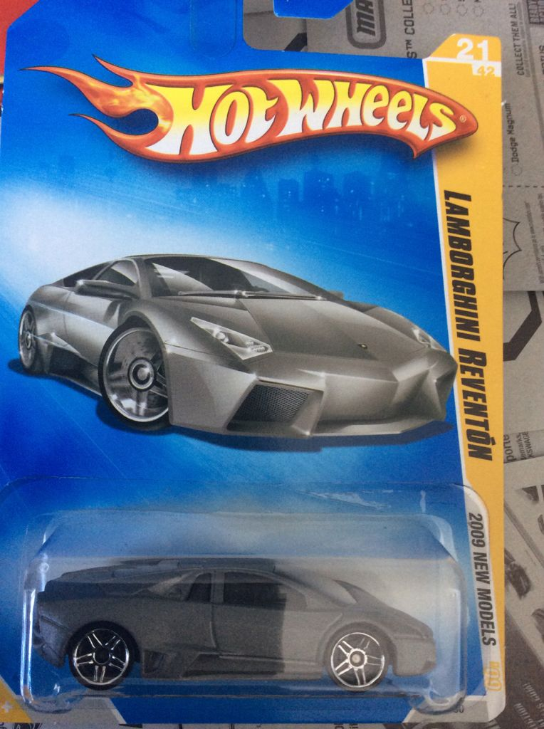 Lamborghini Reventon Toy Car Die Cast And Hot Wheels 2009 From