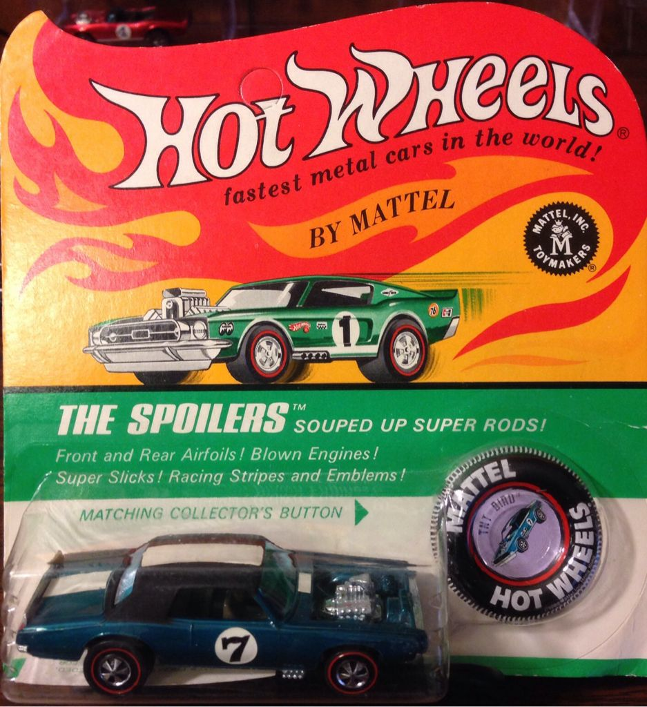 Redline The Spoilers TnT Bird Toy Car, Die Cast, And Hot Wheels