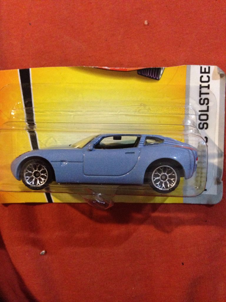 Pontiac Solstice Toy Car Cast And Hot Wheels Front Image Cover