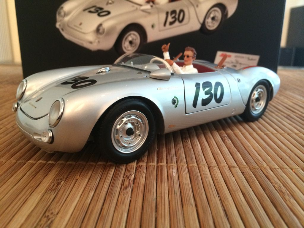 Porsche 550 A Spyder Little Bastard Toy Car Die Cast