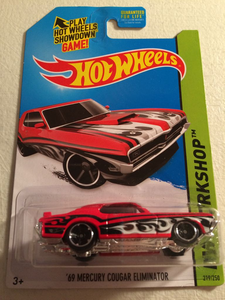 '69 Mercury Cougar Eliminator - Hot Wheels