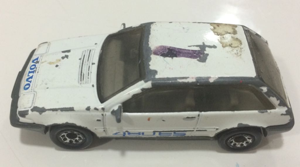 Volvo 480 Es Toy Car Die Cast And Hot Wheels 1987 From Sort It