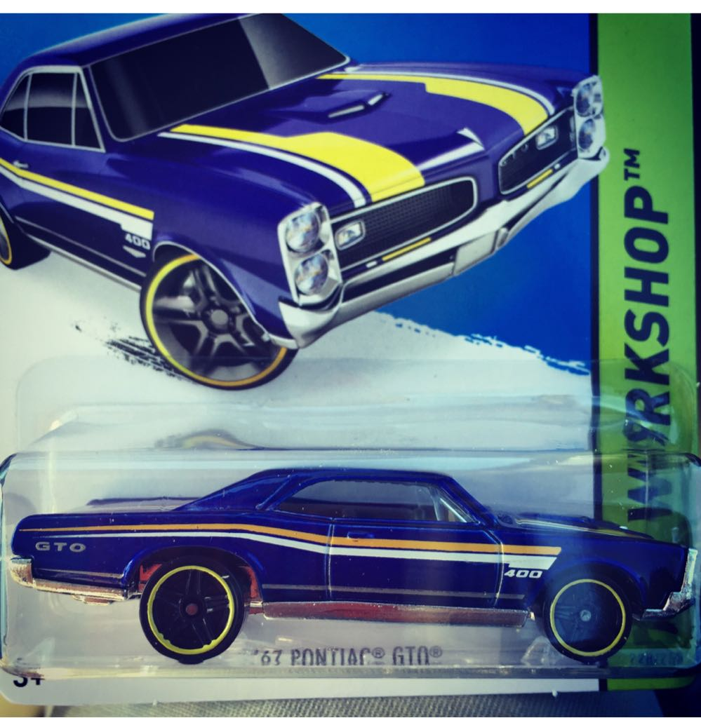 '67 Pontiac GTO - Hot Wheels