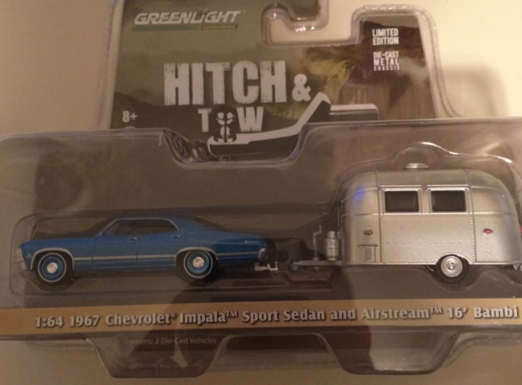 Greenligth Hitch T W Chevrolet Impala 67 Toy Car Die Cast And Hot