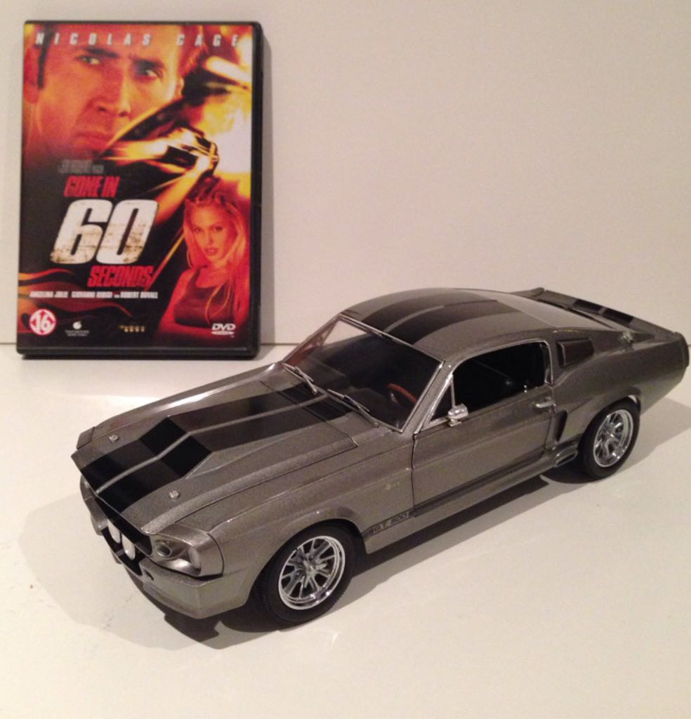 Ford mustang toy car die cast and hot wheels shelby gt500 eleanor