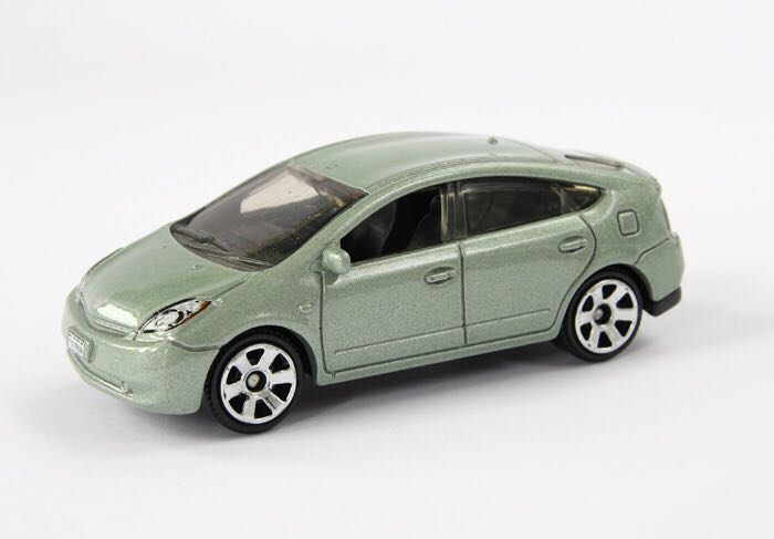 Toyota Prius Toy Car Cast And Hot Wheels 2009 Front Image