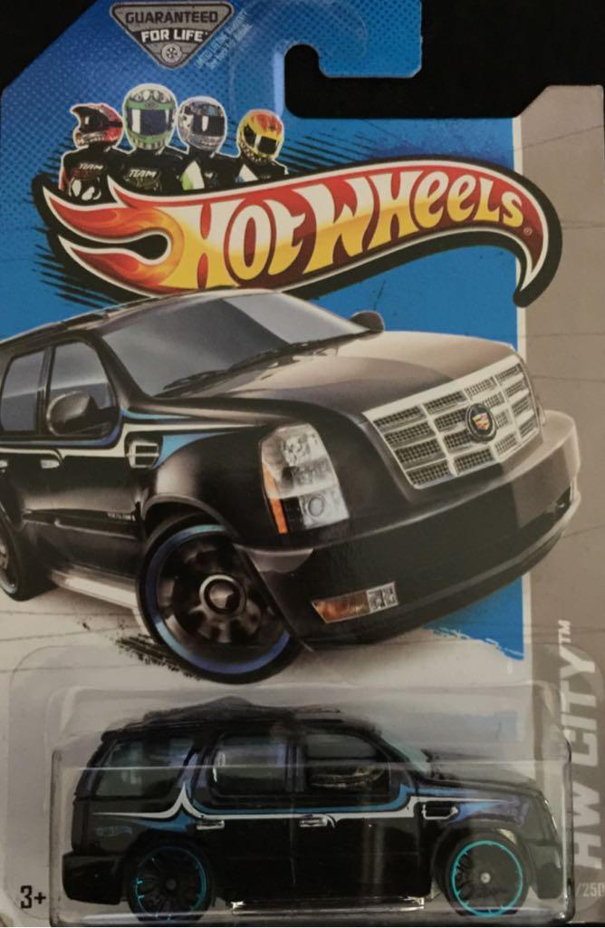 Cadillac Escalade Toy Car Die Cast And Hot Wheels 2007 Cadillac