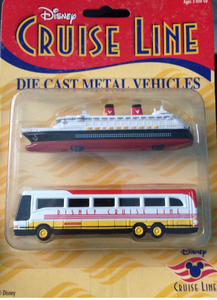 Disney Cruise Line Toy Car Die Cast And Hot Wheels From Sort - Toy disney cruise ship