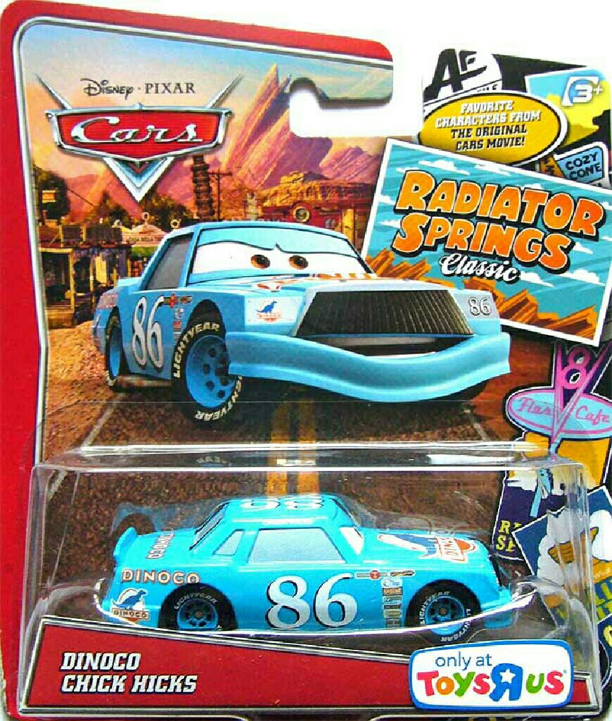 Dinoco chick hicks toy car die cast and hot wheels from sort it apps - Coloriage cars chick hicks ...