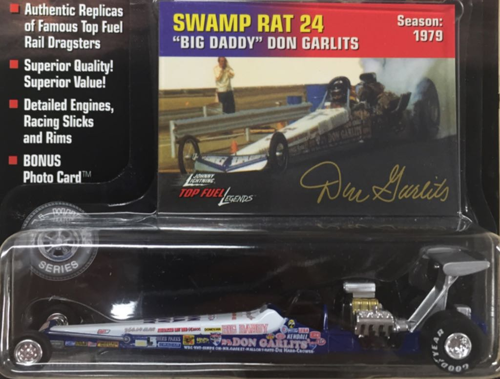 Johnny Lightning Toy Car, Die Cast, And Hot Wheels - Swamp