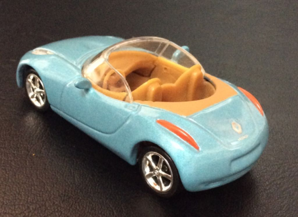 Renault Wind Toy Car Die Cast And Hot Wheels Renault Wind 2004