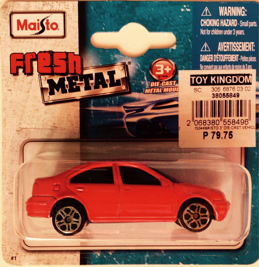 Vw Jetta Toy Car Die Cast And Hot Wheels Maisto 2012 From