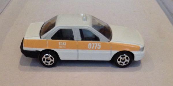 Taxi Mediano Tsuru Tuxtla Gutierrez Chiapas Toy Car, Die