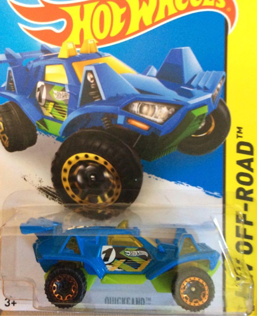 2015 Hot Wheels HW OFF-ROAD Quicksand 111//250 Blue Version