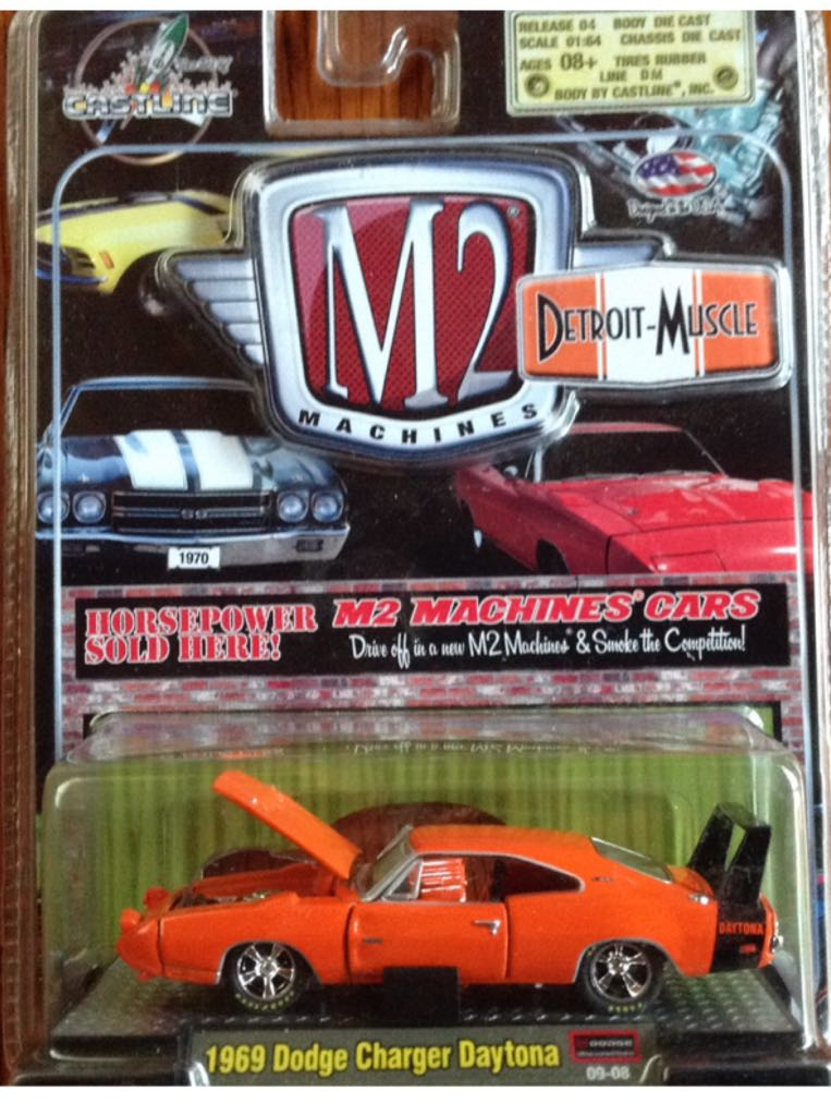 1969 Dodge Charger Daytona Toy Car Die Cast And Hot Wheels
