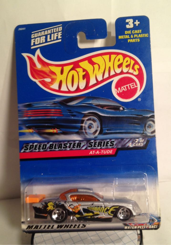 2000 Speed Blaster Toy Car, Die Cast, And Hot Wheels - At-A