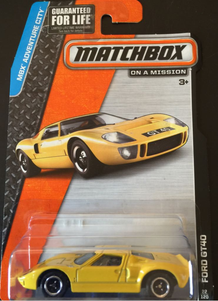 Matchbox Ford GT40 Toy Car, Die Cast, And Hot Wheels ...