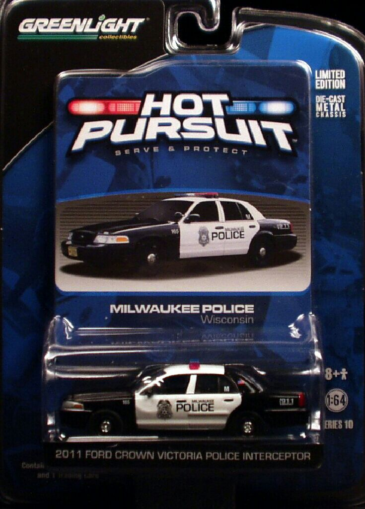 Greenlight 2011 Ford Crown Victoria Police Interceptor