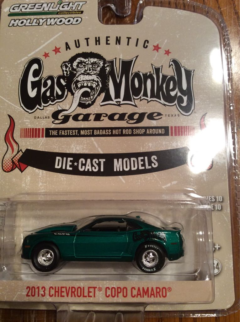 Greenlight Hollywood Gas Monkey Garage 2013 Chevrolet Copo