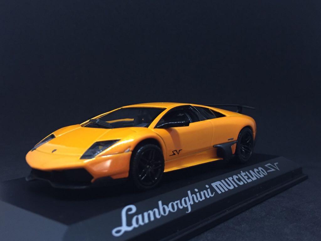 Lamborghini Murcielago Sv Toy Car Die Cast And Hot Wheels