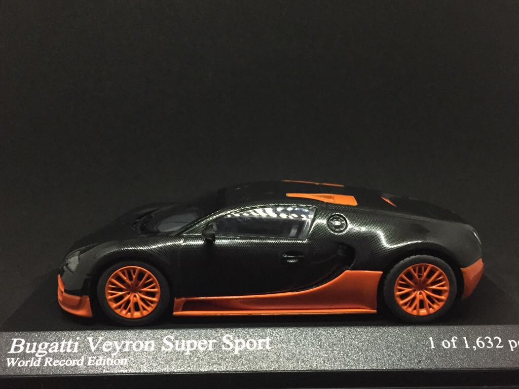 bugatti veyron super sport world record edition toy car die cast and hot wheels bugatti. Black Bedroom Furniture Sets. Home Design Ideas