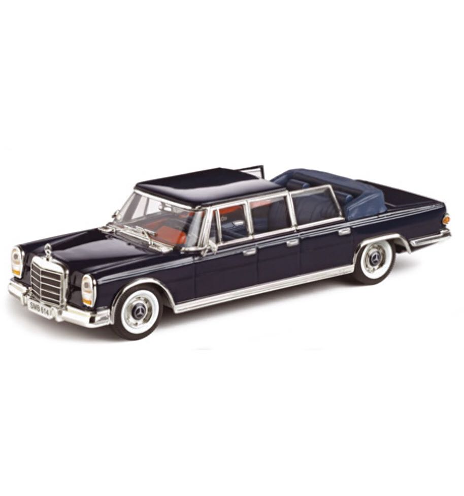 Mercedes benz 600 landaulet toy car die cast and hot for Mercedes benz toy car