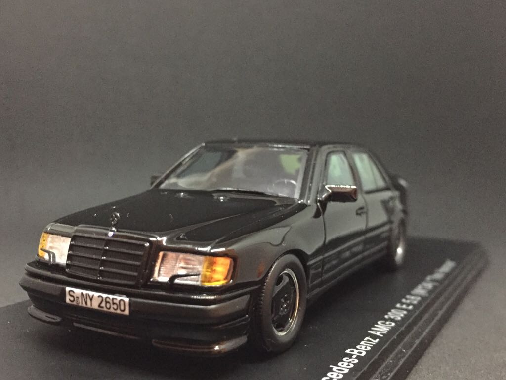 "Mercedes-Benz AMG 300 E 5 6 (W124) ""The Hammer"" Toy Car, Die Cast"