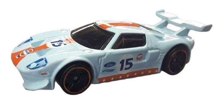 White Ford Fiesta Toy Car