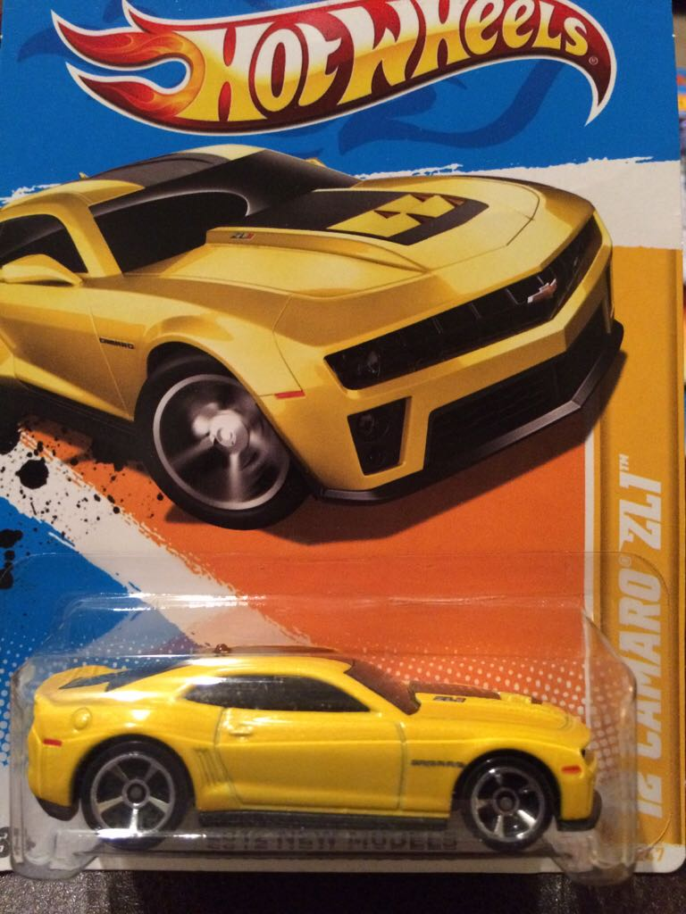 Chevrolet Camaro Toy Car Die Cast And Hot Wheels Chevrolet
