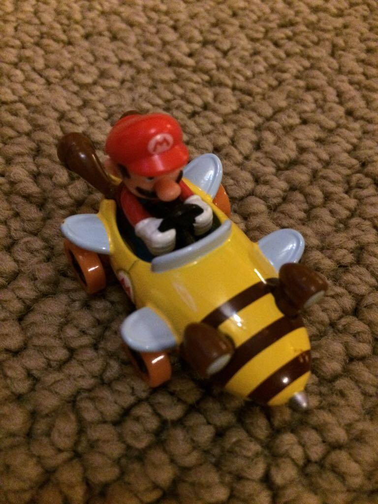 Tomy Mario + Bumble V Toy Car, Die Cast, And Hot Wheels (2014