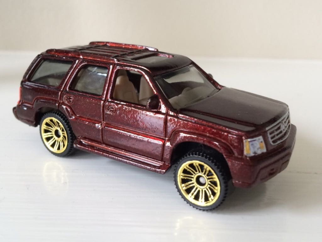 Cadillac Escalade Toy Car Die Cast And Hot Wheels 02 Cadillac