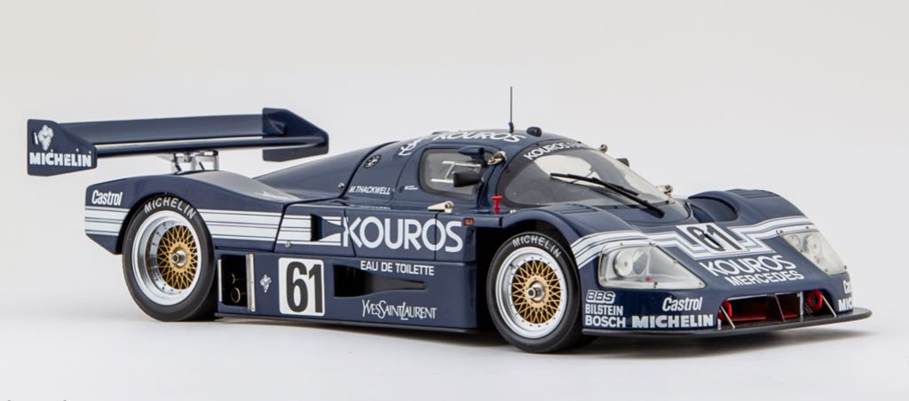 Sauber Mercedes C9 Kouros Toy Car, Die Cast, And Hot ...