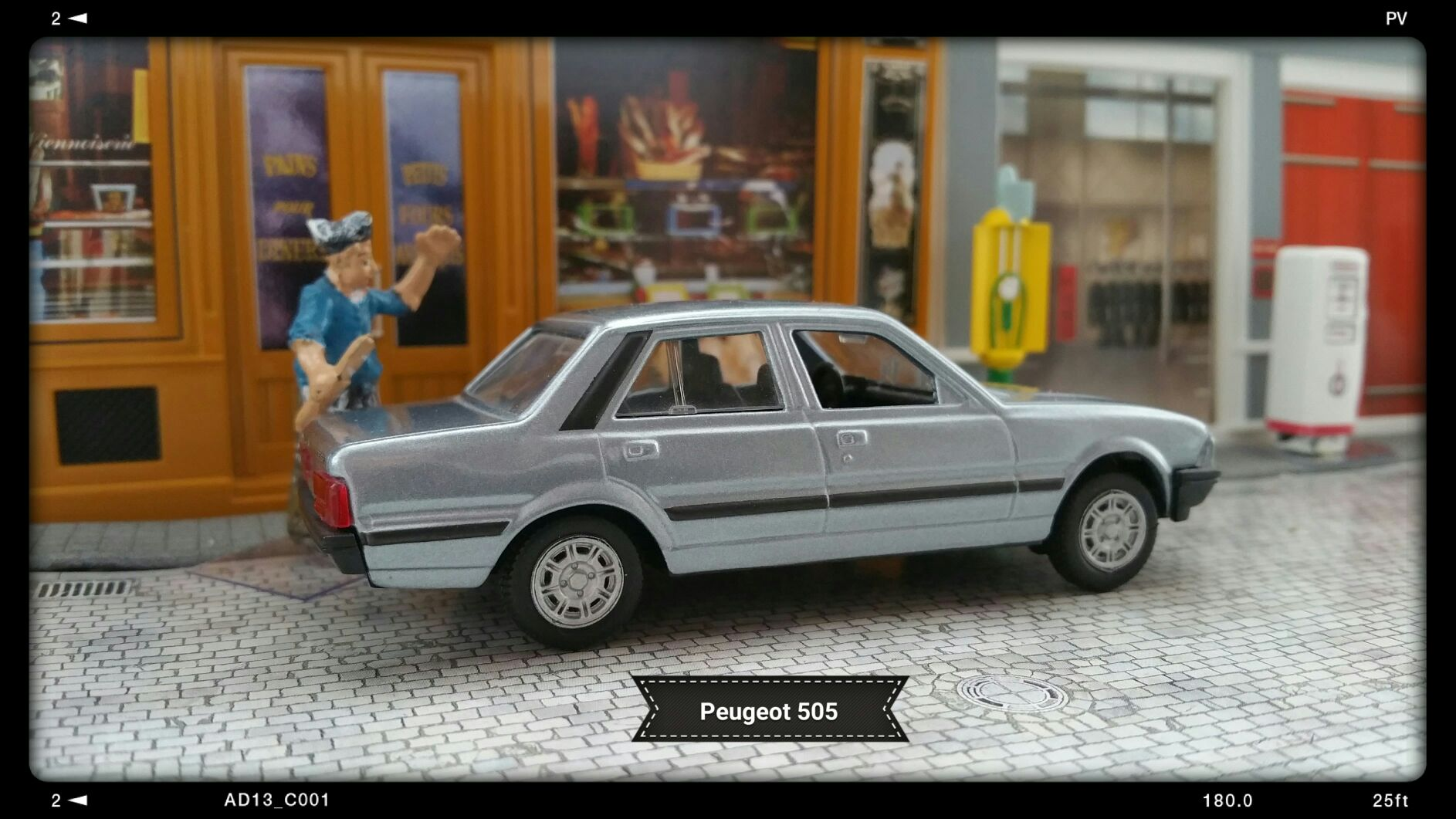 Peugeot 505 Toy Car Die Cast And Hot Wheels Norev 1979 From Sort It Apps