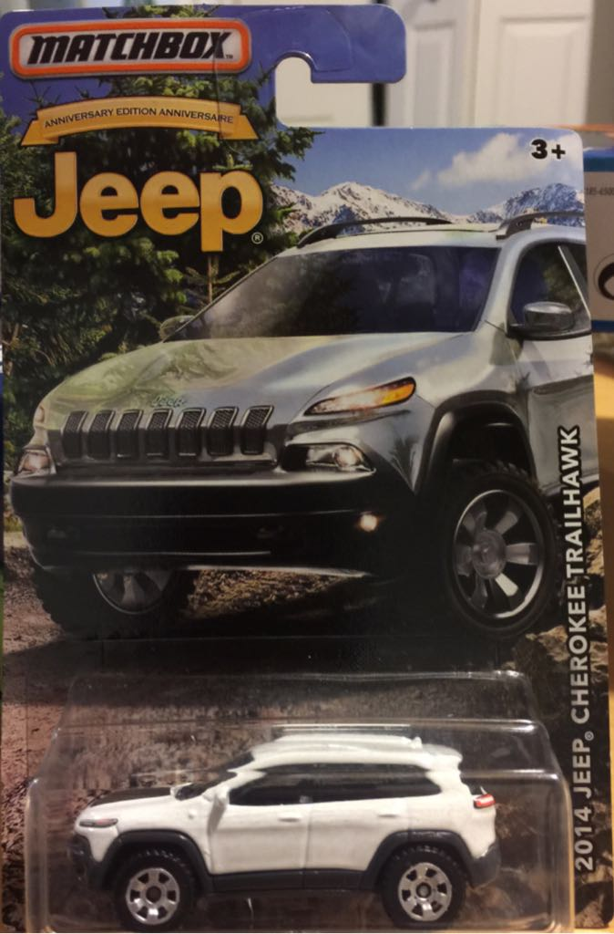 2014 Jeep Cherokee Trailhawk Toy Car Die Cast And Hot Wheels