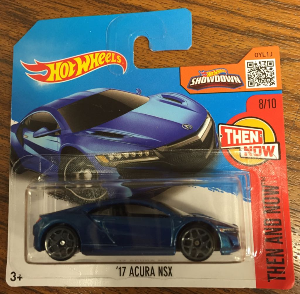 17 Acura Nsx Toy Car Die Cast And Hot Wheels 17 Acura Nsx
