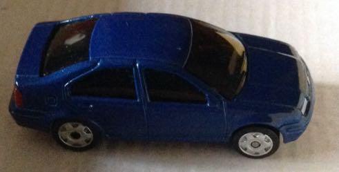Jetta Azul Marino Toy Car Die Cast And Hot Wheels Volkswagen