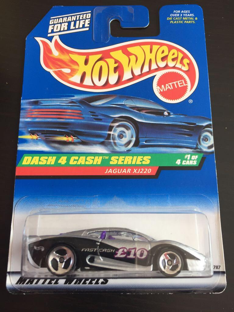 Jaguar Xj220 Toy Car Die Cast And Hot Wheels Jaguar Xj 220 1997