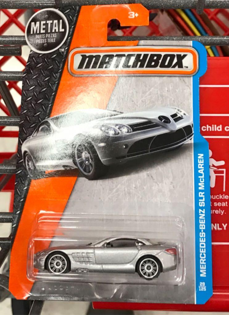 Mercedes benz slr mclaren toy car die cast and hot for Hot wheels mercedes benz